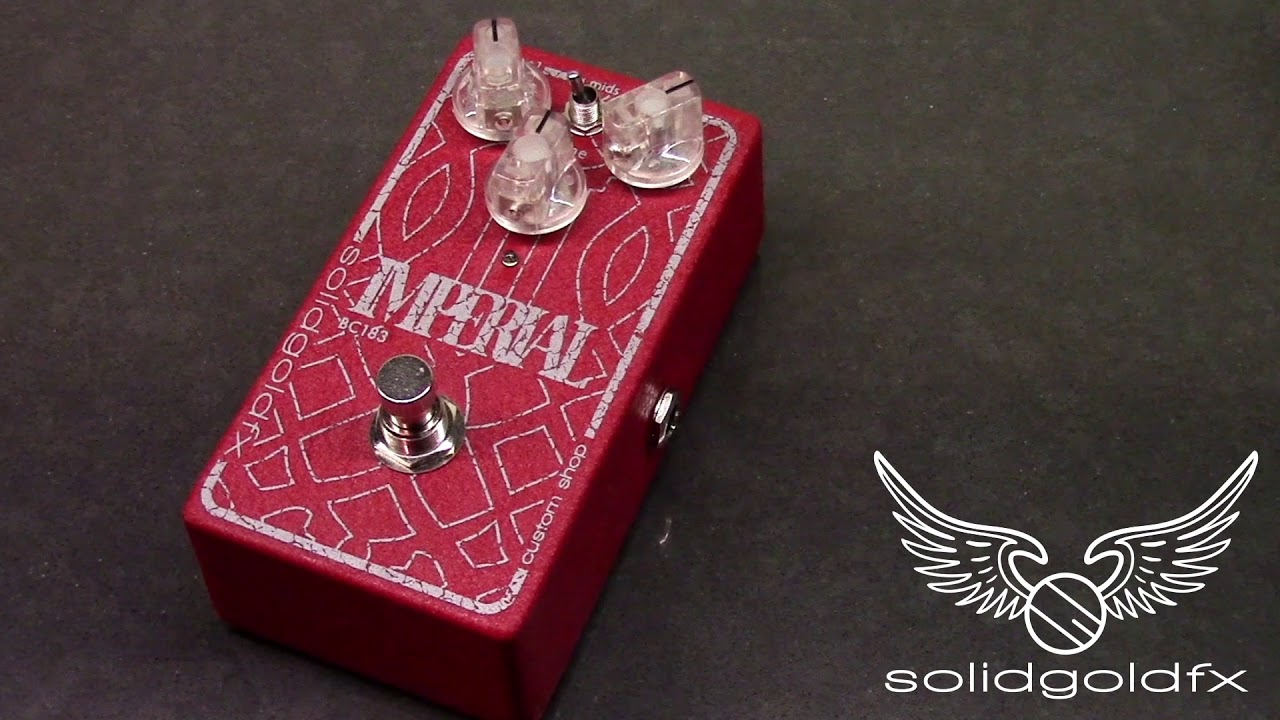 SolidGoldFX IMPERIAL BASS FUZZ - BC183 - CUSTOM SHOP DISTRESSED