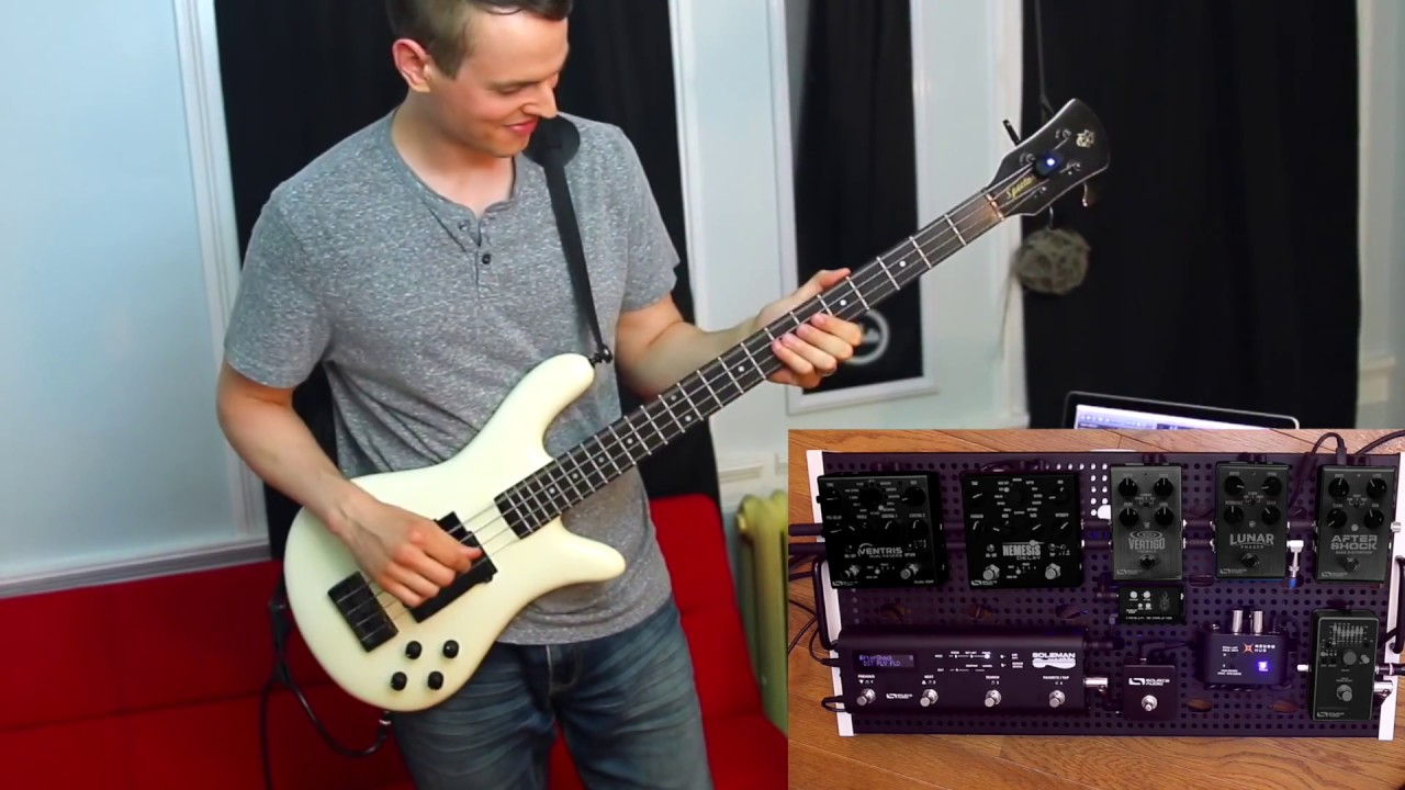 Source Audio Bass Pedal Demo - Nathan Navarro