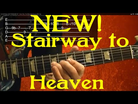 STAIRWAY TO HEAVEN - New Arrangement Guitar Lesson