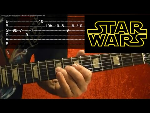 STAR WARS Guitar Lesson - The Throne Room