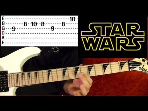 STAR WARS The Force Theme - Guitar Lesson