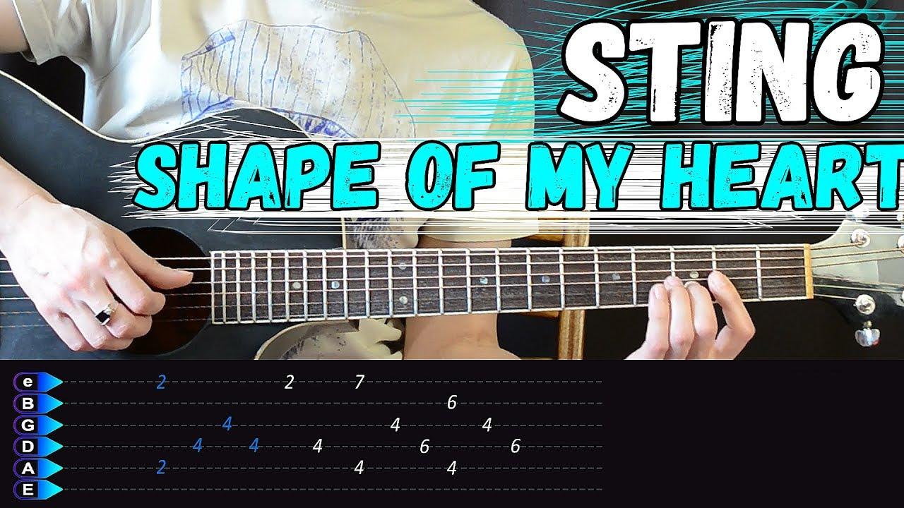 Sting - Shape of my heart на гитаре. ПОДРОБНЫЙ Разбор от Гитар Ван