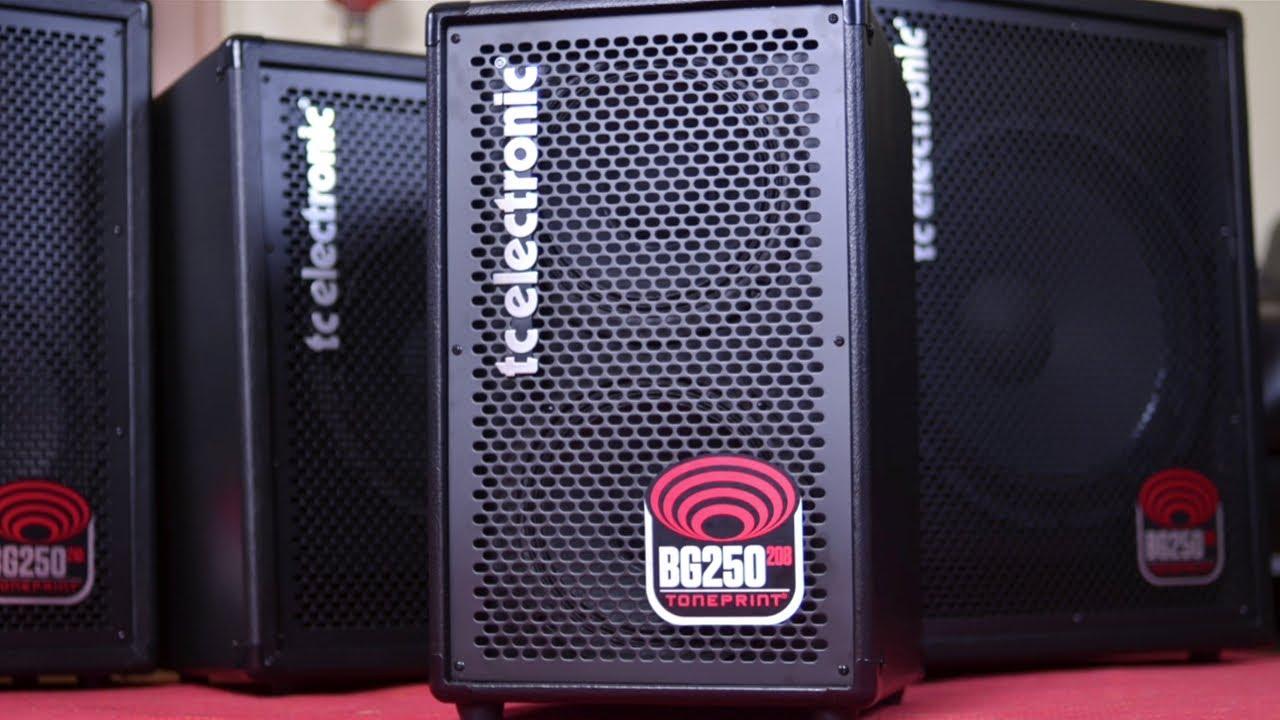 TC ELECTRONIC BG250 BASS COMBOS - REVIEW BassTheWorld.com