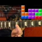 TETRIS Theme — Guitar Lesson