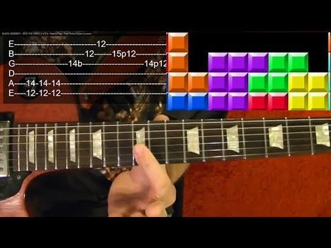 TETRIS Theme - Guitar Lesson