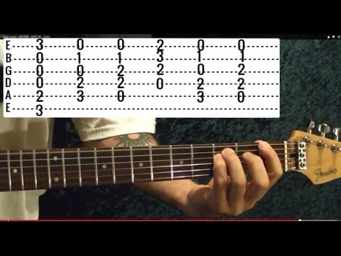 THE BREAKFAST CLUB Theme ( Don't You Forget About Me by Simple Minds ) - Guitar Lesson