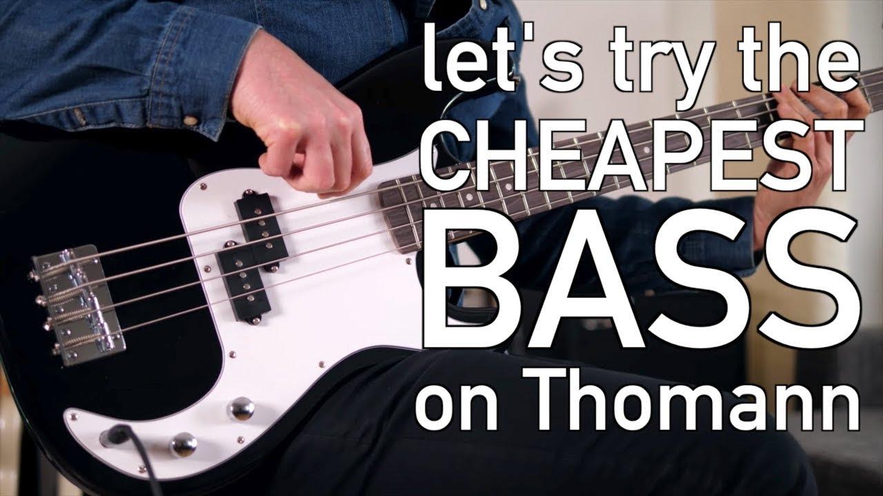 The Cheapest Bass on Thomann