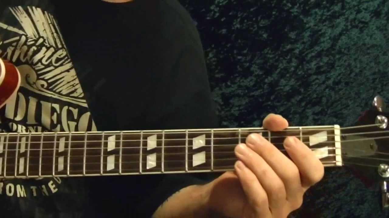 THE MAJOR SCALE Easy Guitar Lesson - Beginner