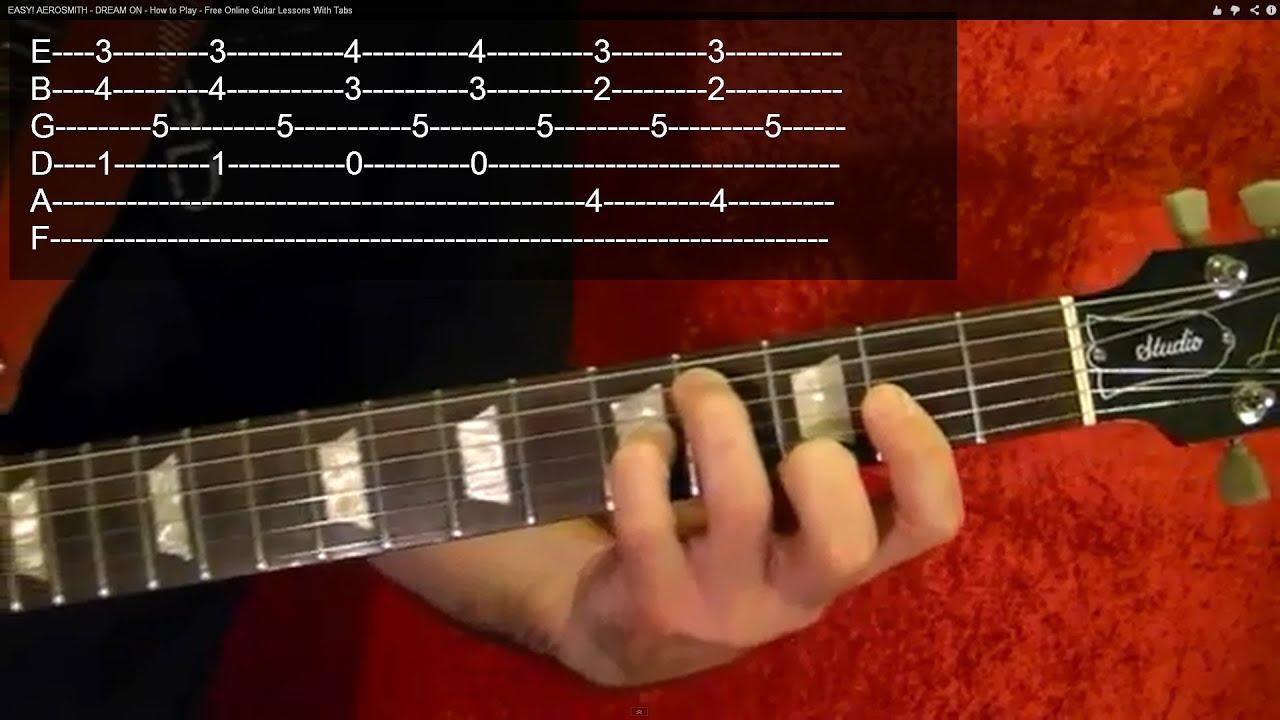 THE RAIN SONG - Led Zeppelin ( 2 of 3 ) Guitar Lesson