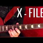 THE X FILES Theme ( aka LUMINAUGHTY CONFIRMED ) Guitar Lesson