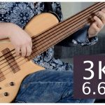 THIS 6-STRING FRETLESS BASS WEIGHS ONLY 3 KILOS