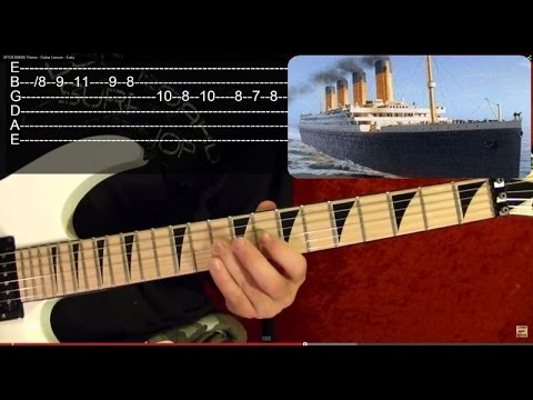 TITANIC Theme - Guitar Lesson - Beginners