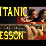 TITANIC Theme ( Lead and Chords ) Guitar Lesson — EASY
