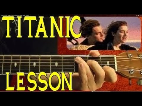 TITANIC Theme ( Lead and Chords ) Guitar Lesson - EASY