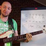 Учимся сочинять песни в любой тональности за 10 минут (урок бас гитара)