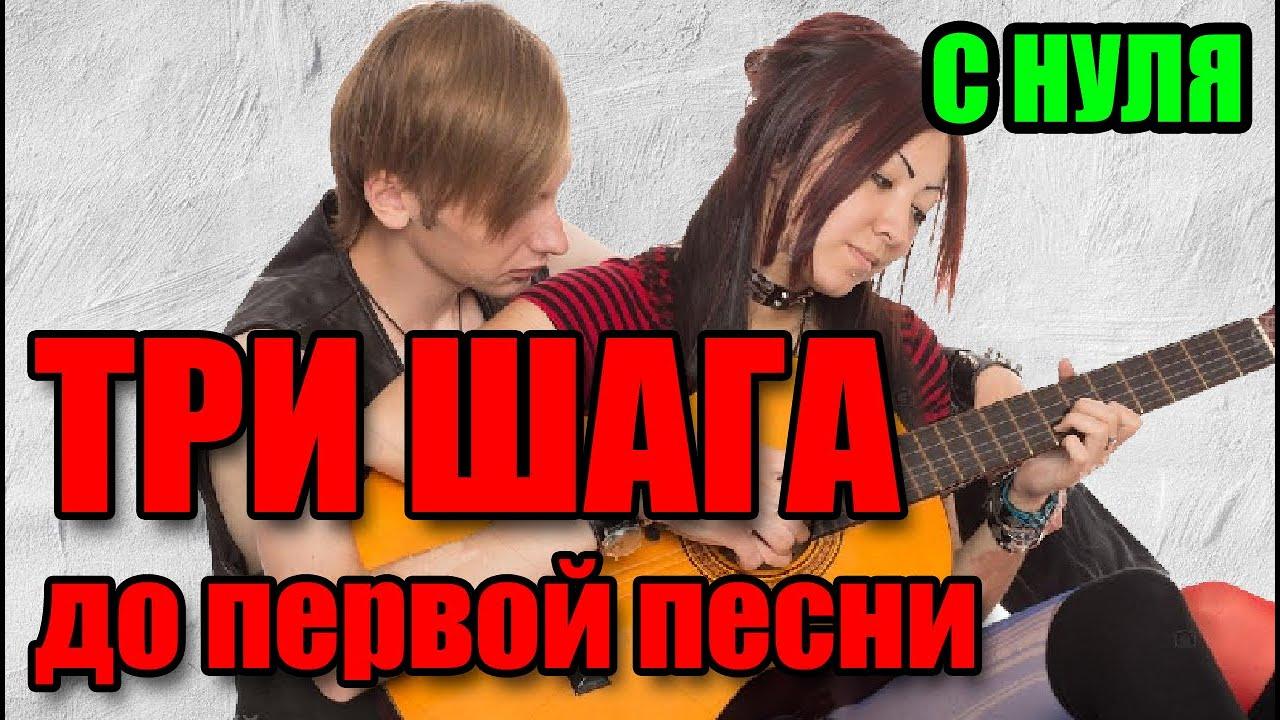 Уроки игры на гитаре С НУЛЯ - аккорды, переходы, упражнения, баре