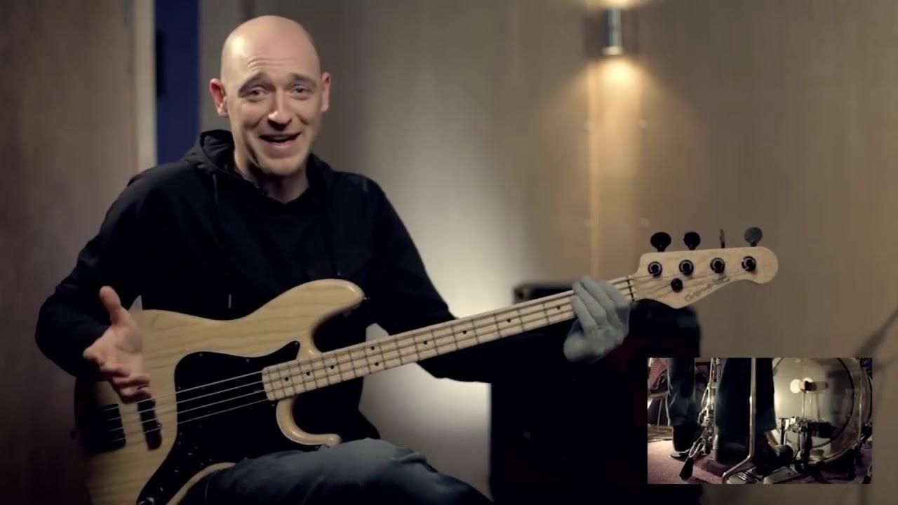 Взаимодействие баса и ударных (бас-гитара урок)