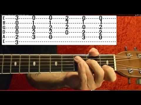 Wonderwall - OASIS - Guitar Lesson