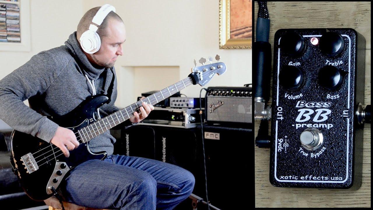 XOTIC BB BASS PREAMP BassTheWorld.com