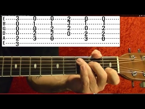 Yesterday THE BEATLES Guitar Lesson